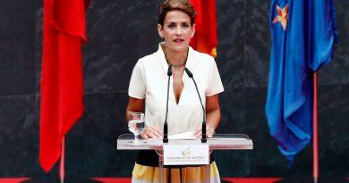 España – La presidenta de Navarra, María Chivite, ha sido recibida esta tarde en audiencia por el Rey Felipe VI