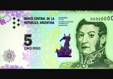 Adiós a los billetes de 5 pesos: hasta qué día los comercios deben aceptarlos