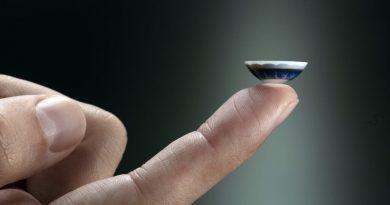 Lentes de contacto inteligentes ¿una pantalla en su ojo?