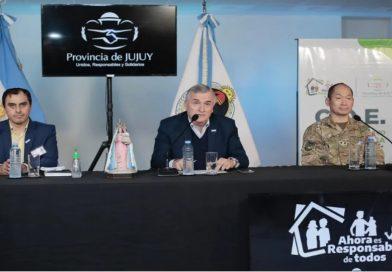 Morales afirmó que parte del sistema de salud pública de Jujuy «está colapsado» por el coronavirus