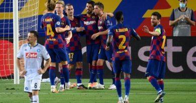 De la mano de Messi, Barsa, esta en 4tos de final de la Champions League