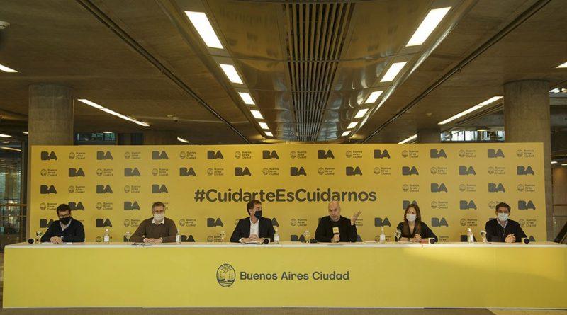 Horacio Rodríguez Larreta anunció las nuevas aperturas en CABA