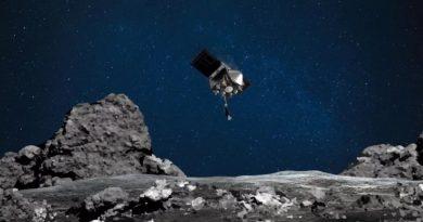 NASA: La sonda Osiris-Rex entró en contacto con el asteroide Bennu (Video)