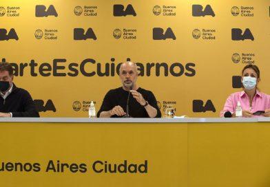 CABA| Larreta anunciará nuevas medidas sanitarias