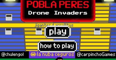 Bien Argento: Crearon un videojuego donde Pablo Pérez destruye drones