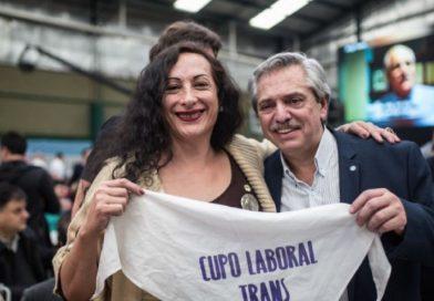 El Presidente celebró la Ley de Cupo Laboral Trans: «somos un país más justo e igualitario»