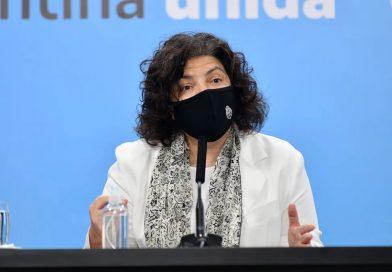 Vizzotti: «La prioridad uno» es completar el esquema de vacunación