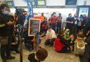 Violentos incidentes en Aeroparque con trabajadores de Latam (Video)